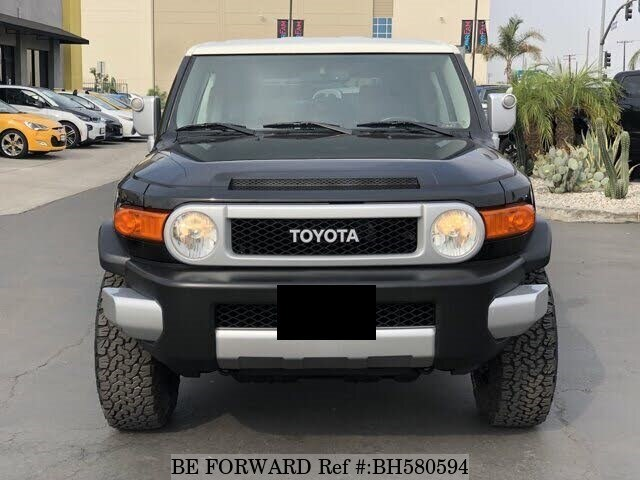 Used 2011 TOYOTA FJ CRUISER BH580594 for Sale
