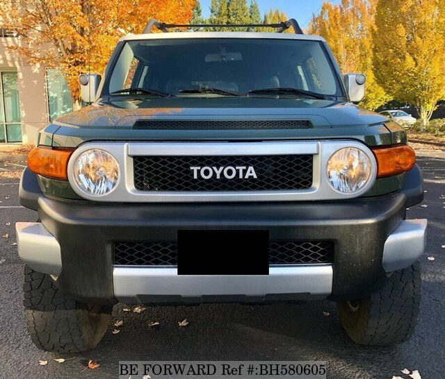 Used 2012 TOYOTA FJ CRUISER BH580605 for Sale