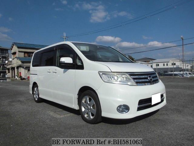 Used 2010 NISSAN SERENA BH581063 for Sale