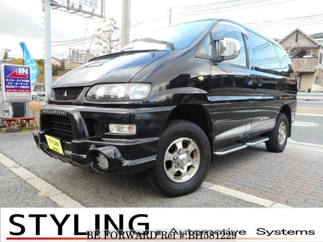Used 2003 MITSUBISHI DELICA SPACEGEAR BH581229 for Sale