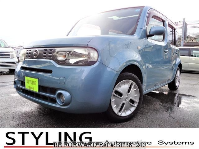 Used 2009 NISSAN CUBE BH581240 for Sale