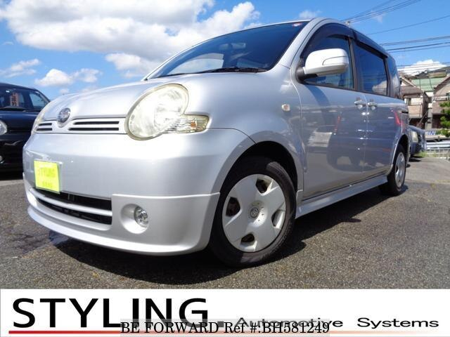 Used 2005 TOYOTA SIENTA BH581249 for Sale