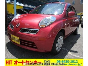 Used 2007 NISSAN MARCH BH581268 for Sale