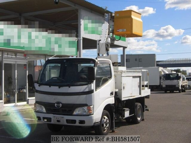 Used 2008 HINO DUTRO BH581507 for Sale