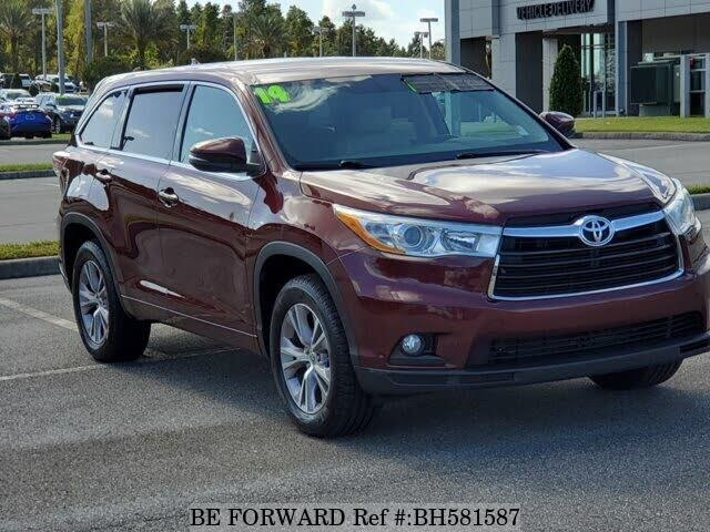 Used 2014 TOYOTA HIGHLANDER BH581587 for Sale