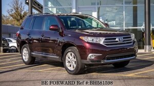 Used 2012 TOYOTA HIGHLANDER BH581598 for Sale