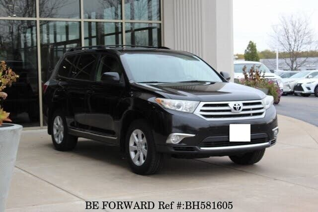 Used 2012 TOYOTA HIGHLANDER BH581605 for Sale