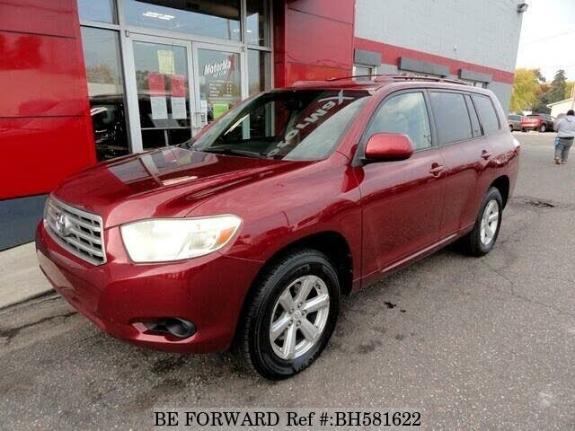 Used 2008 TOYOTA HIGHLANDER BH581622 for Sale
