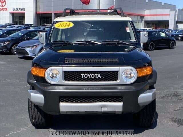 Used 2014 TOYOTA FJ CRUISER BH581748 for Sale