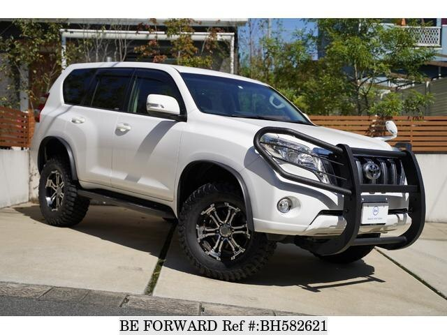 Used 2015 TOYOTA LAND CRUISER PRADO BH582621 for Sale