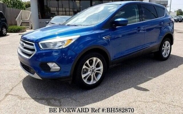 Used 2017 FORD ESCAPE BH582870 for Sale