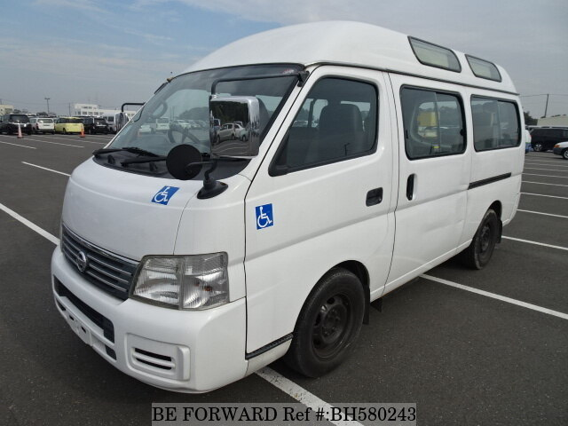 Used 2004 NISSAN CARAVAN VAN BH580243 for Sale