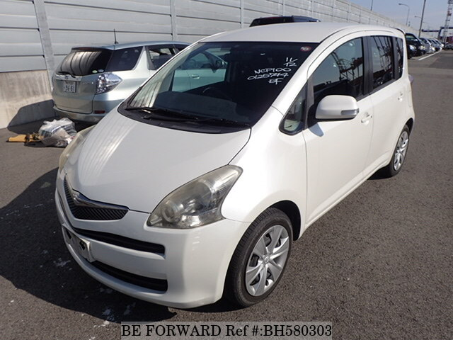 Used 2008 TOYOTA RACTIS BH580303 for Sale