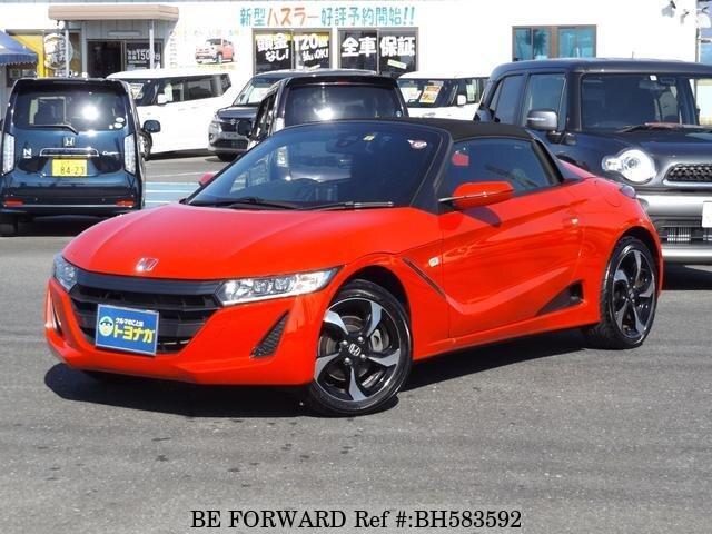 Used 2016 HONDA S660 BH583592 for Sale