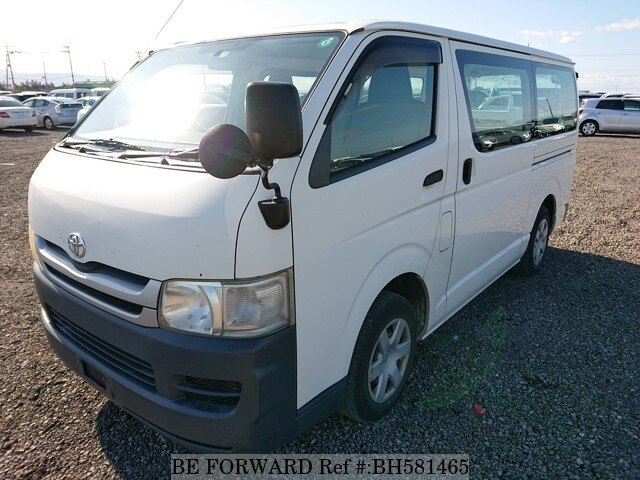 Used 2010 TOYOTA HIACE VAN BH581465 for Sale