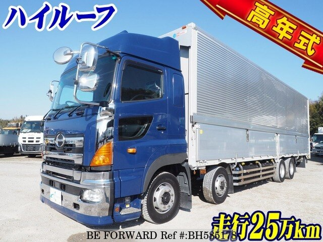 Used 2017 HINO PROFIA BH585178 for Sale