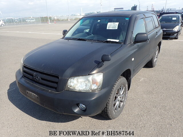 Used 2006 TOYOTA KLUGER BH587544 for Sale