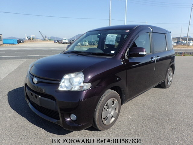 Used 2012 TOYOTA SIENTA BH587636 for Sale