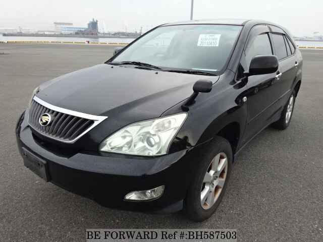 Used 2010 TOYOTA HARRIER BH587503 for Sale