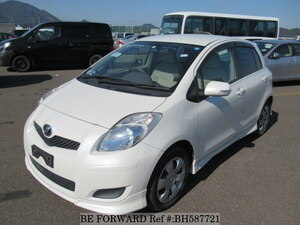Used 2007 TOYOTA VITZ BH587721 for Sale