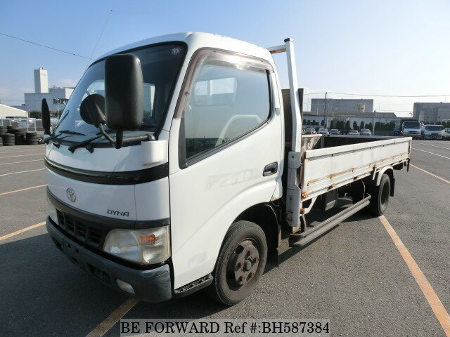 Used 2003 TOYOTA DYNA TRUCK BH587384 for Sale
