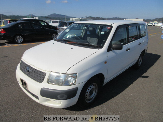 Used 2005 TOYOTA SUCCEED VAN BH587727 for Sale