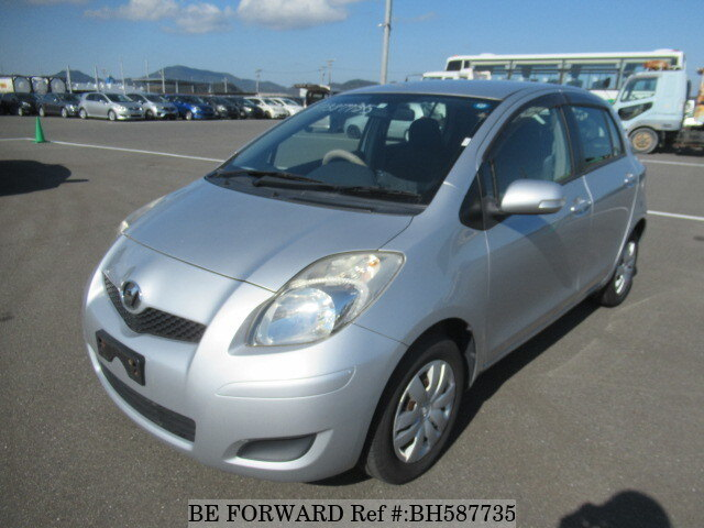 Used 2009 TOYOTA VITZ BH587735 for Sale