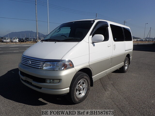 Used 1998 TOYOTA REGIUS WAGON BH587673 for Sale