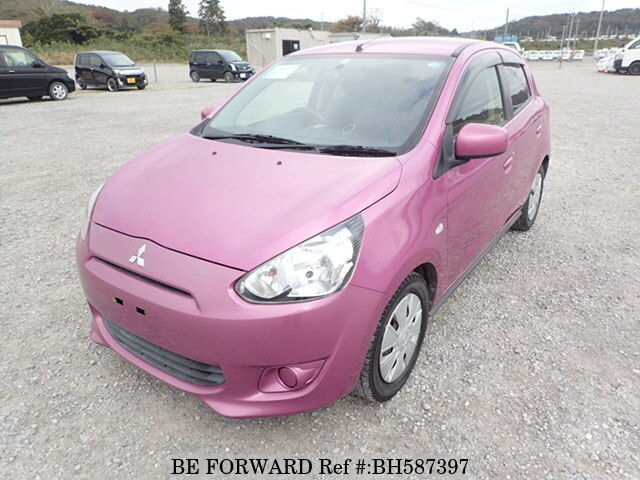 Used 2013 MITSUBISHI MIRAGE BH587397 for Sale