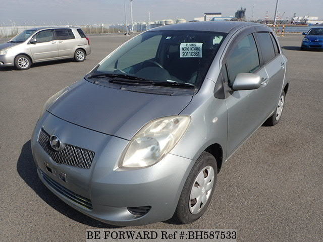 Used 2007 TOYOTA VITZ BH587533 for Sale