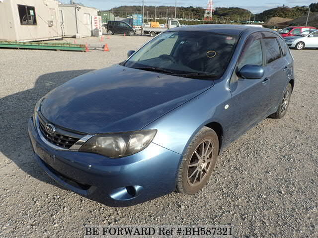 Used 2008 SUBARU IMPREZA BH587321 for Sale
