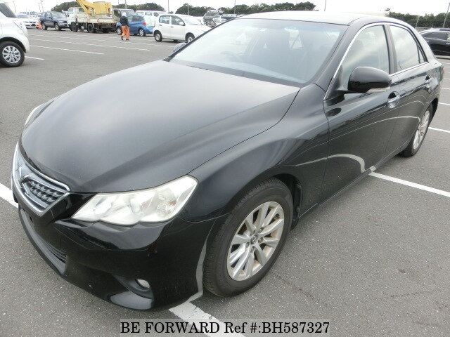 Used 2011 TOYOTA MARK X BH587327 for Sale