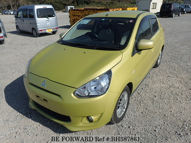 Used 2012 MITSUBISHI MIRAGE BH587861 for Sale