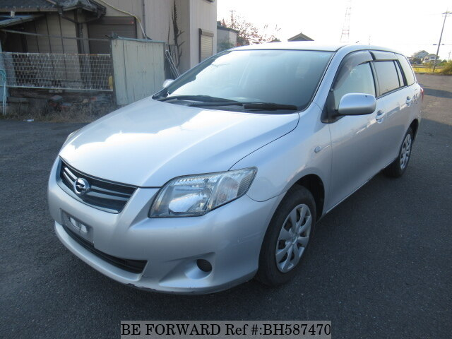 Used 2011 TOYOTA COROLLA FIELDER BH587470 for Sale