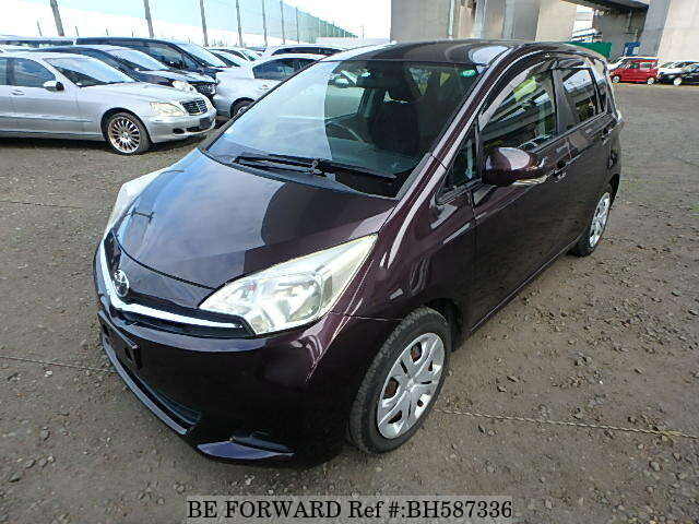 Used 2011 TOYOTA RACTIS BH587336 for Sale