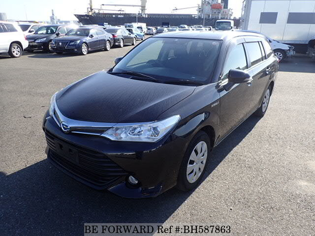 Used 2015 TOYOTA COROLLA FIELDER BH587863 for Sale