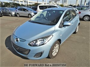 Used 2012 MAZDA DEMIO BH587358 for Sale