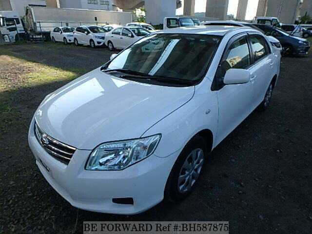 Used 2011 TOYOTA COROLLA AXIO BH587875 for Sale