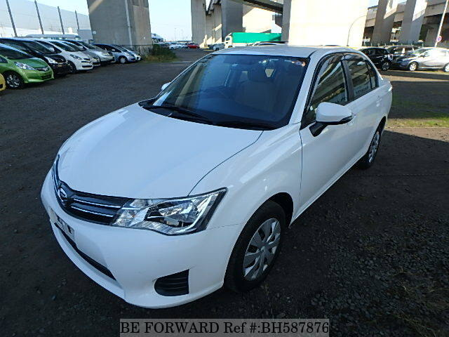 Used 2013 TOYOTA COROLLA AXIO BH587876 for Sale