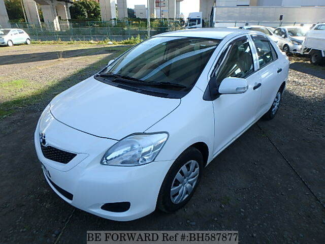 Used 2009 TOYOTA BELTA BH587877 for Sale