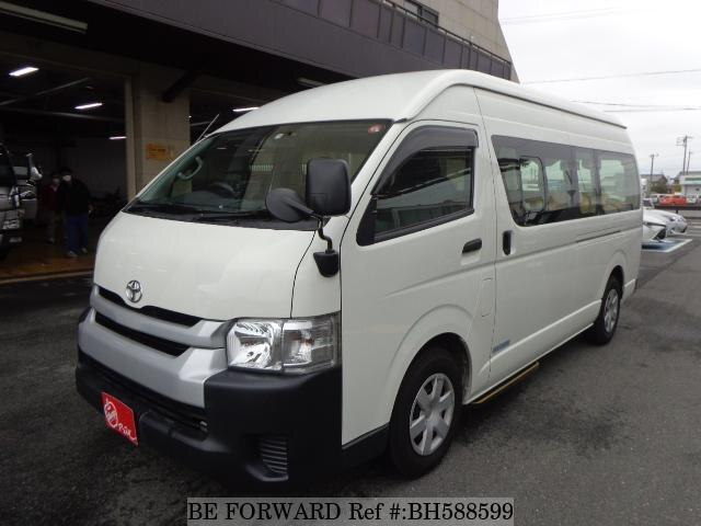 Used 2015 TOYOTA HIACE COMMUTER BH588599 for Sale
