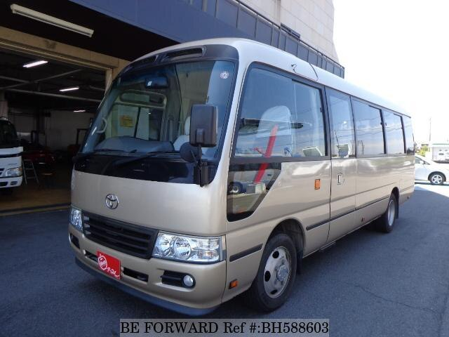 Used 2013 TOYOTA COASTER BH588603 for Sale