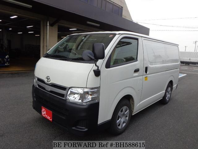 Used 2013 TOYOTA HIACE VAN BH588615 for Sale