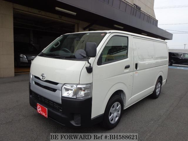 Used 2019 TOYOTA HIACE VAN BH588621 for Sale