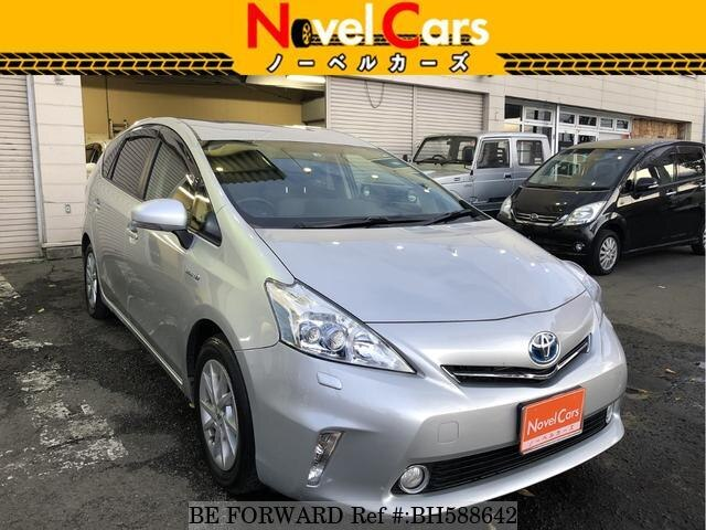 Used 2012 TOYOTA PRIUS ALPHA BH588642 for Sale