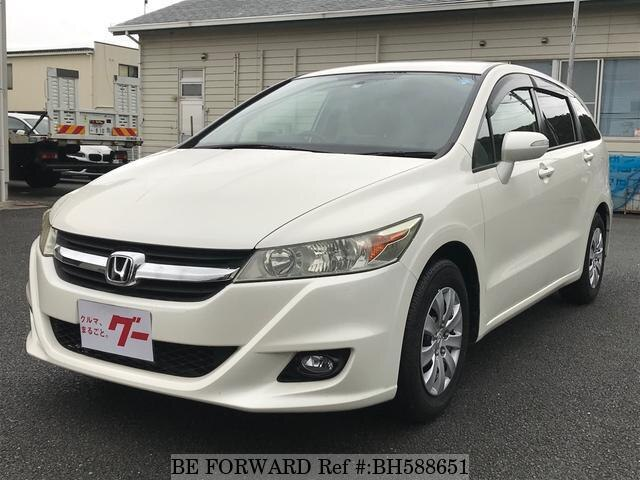 Used 2009 HONDA STREAM BH588651 for Sale