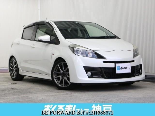 Used 2012 TOYOTA VITZ BH588672 for Sale