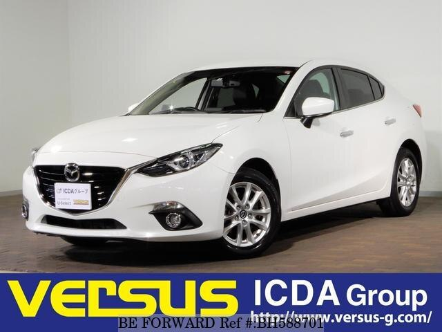 Used 2014 MAZDA AXELA HYBRID BH588701 for Sale