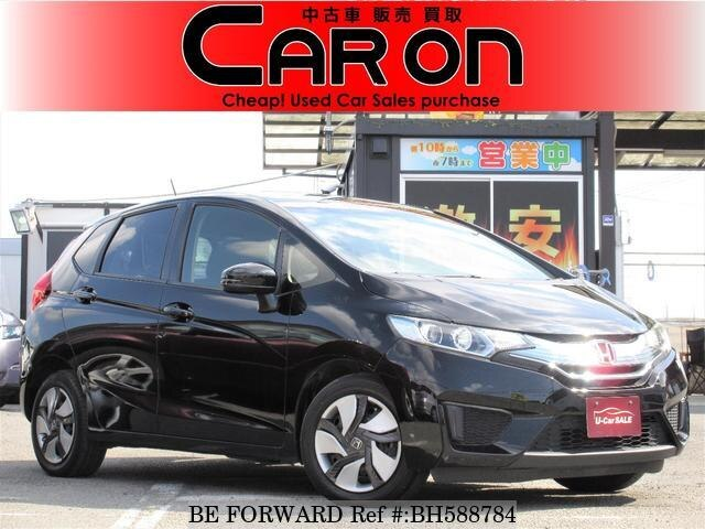 Used 2013 HONDA FIT HYBRID BH588784 for Sale
