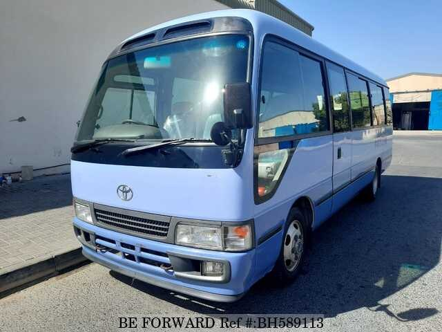 Used 2002 TOYOTA COASTER BH589113 for Sale